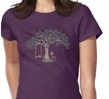 Saturday in the park Womens Fitted T-Shirt