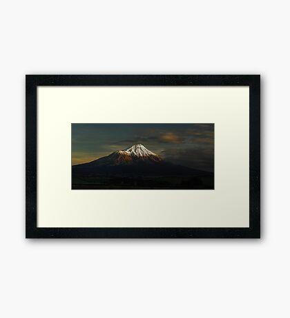 The First Light Framed Print