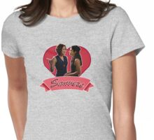 Sanvers in Love Womens Fitted T-Shirt