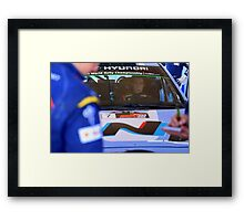 Thierry Neuville Framed Print