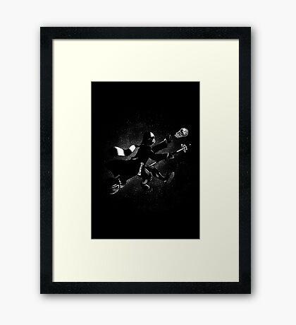 Star Quidditch Framed Print