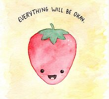 Positive Strawberry by Elliott Junkyard