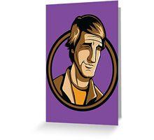 Time Travelers, Series 3 - Dr. Sam Beckett (Alternate) Greeting Card