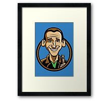 Time Travelers, Series 3 - The Ninth Doctor (Alternate) Framed Print