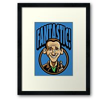 Time Travelers, Series 3 - The Ninth Doctor (Alternate 2) Framed Print