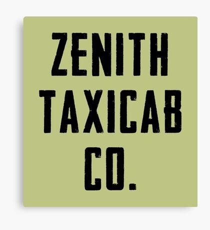 Zenith Taxicab Co. Canvas Print