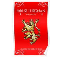 House Lusignan Poster