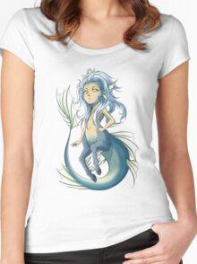 Ichtyocentaur - Mythical Sea Creature Women's Fitted Scoop T-Shirt