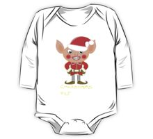 A Christmas Elf  One Piece - Long Sleeve