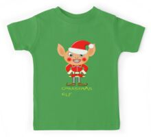 A Christmas Elf  Kids Tee