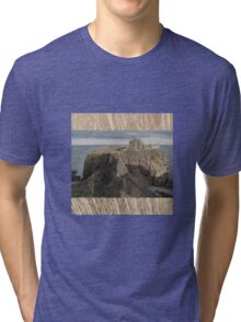 The steep and winding path Tri-blend T-Shirt
