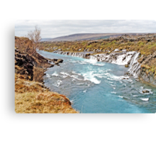 Iceland's Weeping Wall 2 Canvas Print