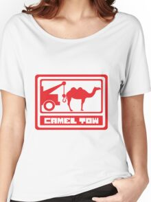 Camel Tow - Rude Women's Relaxed Fit T-Shirt