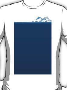 Flight of dolphins T-Shirt