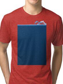 Flight of dolphins Tri-blend T-Shirt