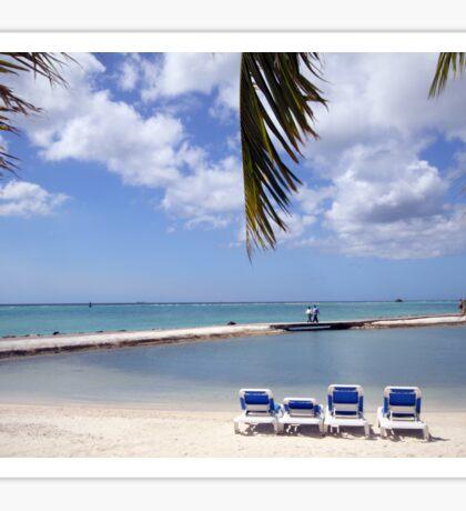 Aruba Holiday Sticker
