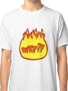 cartoon WTF symbol Classic T-Shirt