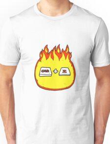 cartoon command Z function Unisex T-Shirt