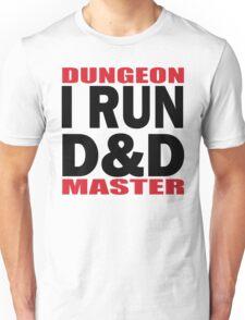 I RUN D&D in black Unisex T-Shirt