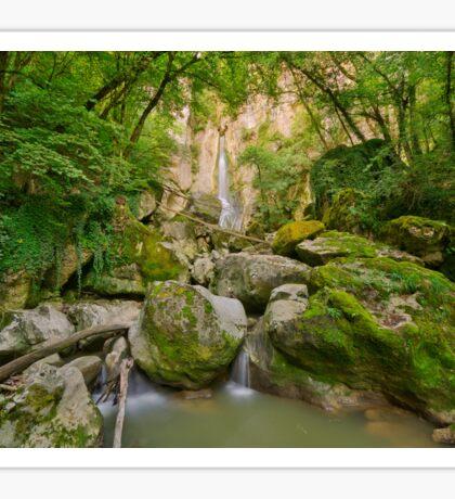 Going to Barbennaz waterfall Sticker