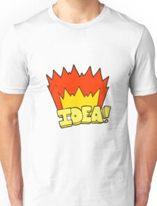 cartoon idea symbol Unisex T-Shirt