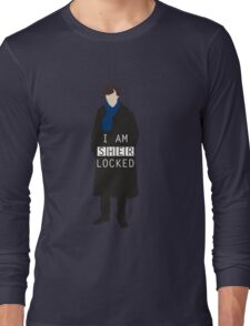 I AM SHERLOCKED Long Sleeve T-Shirt