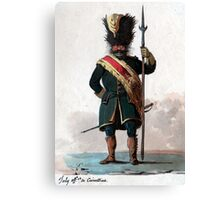 Old Guard Grenadier Canvas Print