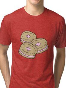 cartoon biscuits Tri-blend T-Shirt