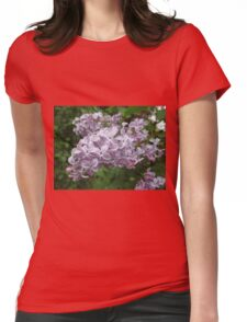 Lilac 5 Womens Fitted T-Shirt