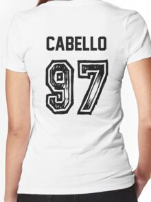 Cabello '97 Women's Fitted V-Neck T-Shirt