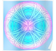 Dream Orb Mandala Poster