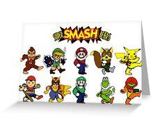 Super Smash Bears Greeting Card