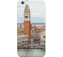 Venice from the Bell Tower San Giorgio Maggiore Cathedral iPhone Case/Skin