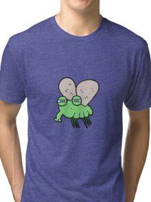 cartoon fly Tri-blend T-Shirt