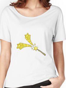 cartoon magic wand Women's Relaxed Fit T-Shirt