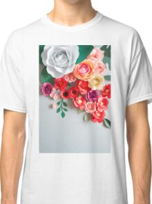 Paper flowers Classic T-Shirt