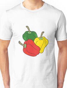 cartoon peppers Unisex T-Shirt