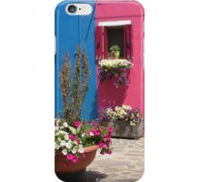 Colors of Burano 3 iPhone Case/Skin
