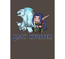 Lazy Hunter Photographic Print