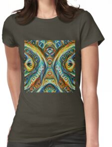 Gothic Style #DeepDream Womens Fitted T-Shirt