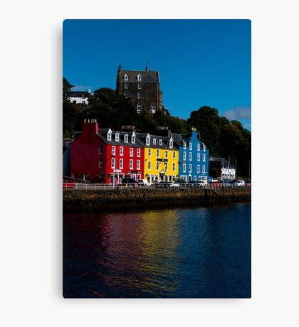 Colorful Tobermory Canvas Print
