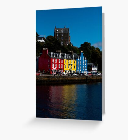Colorful Tobermory Greeting Card