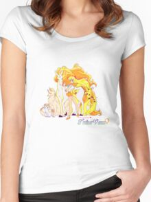 Pretty Guardian Trainer Venus Women's Fitted Scoop T-Shirt
