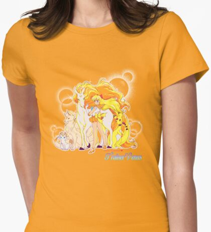 Pretty Guardian Trainer Venus Womens Fitted T-Shirt