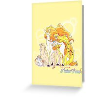 Pretty Guardian Trainer Venus Greeting Card