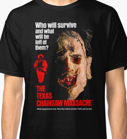 THE TEXAS CHAINSAW MASSACRE 1974 Classic T-Shirt