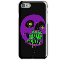 Candy Melty Zombie Skull iPhone Case/Skin