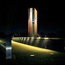 Night at the Carillon by Steven  Agius