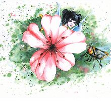 bee surprised by chrissy carter