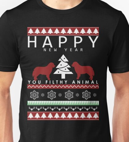 you CHRISTMAS FILTHY ANIMAL new year Unisex T-Shirt